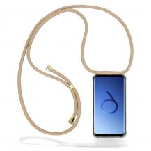 CoveredGear-NecklaceCoveredGear Necklace Case Samsung Galaxy S9 - Beige Cord