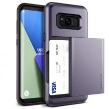 VERUSVerus Damda Glide Card Slot Skal till Samsung Galaxy S8 Plus - Orchid Grey