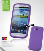 SeepooSeepoo Silikonskal till Samsung Galaxy S3 i9300 + Skärmskydd (Lila)
