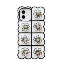 Fidget ToysSmiley Flower Pop it Fidget Skal till iPhone 11 - Vit