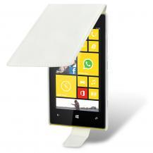 TerrapinSlim Flip Mobilväska till Nokia Lumia 520 (Vit)