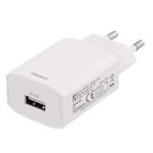 DeltacoDeltaco - USB Väggladdare 12 W - Vit