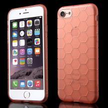 A-One BrandTPU i-smile skal till iPhone 7/8/SE 2020 - Rosa