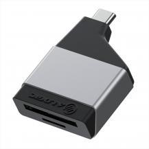 ALOGICALOGIC Ultra Mini USB-C till SD/MicroSD kortläsare