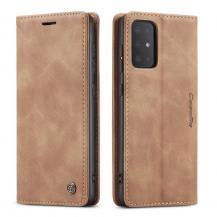 TaltechCASEME 013 Series Plånboksfodral till Samsung Galaxy S20 Ultra - Ljusbrun