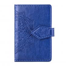 OEMMandala kreditkortshållare för smartphones - Blå