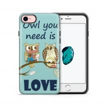 Tough mobilskal till Apple iPhone 7/8 - Owl you need is love