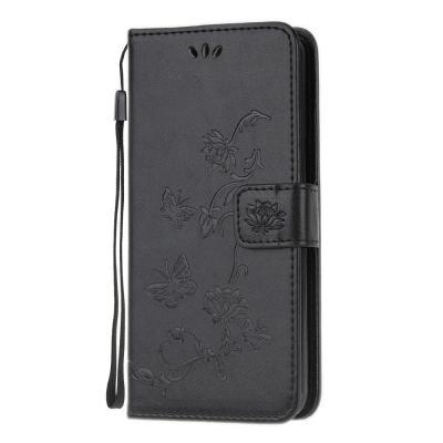 Butterfly Plånboksfodral till Huawei P40 - Svart