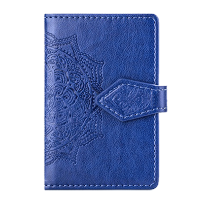 Mandala kreditkortshållare för smartphones - Blå