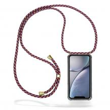CoveredGear-NecklaceCoveredGear Necklace Case iPhone XR - Red Camo Cord