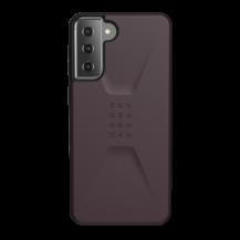 UAGUAG Samsung Galaxy S21 Plus Civil-Fodral Aubergine