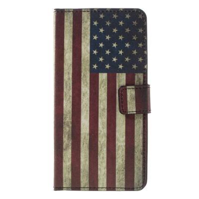 Plånboksfodral till LG G5 - Retro US Flag
