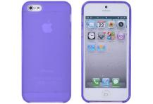 A-One BrandFlexiCase Skal till Apple iPhone 5/5S/SE - Classic (Lila)