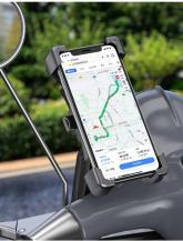 A-One BrandUniversal Roterande Mobilhållare för Motorcykel
