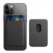 A-One BrandMagsafe Korthållare till Apple iPhone 12/12 Pro / Mini / Pro Max - Svart
