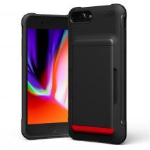 VERUSVRS DESIGN | Damda Glide Shield Skal iPhone SE 2020|8|7 - Svart