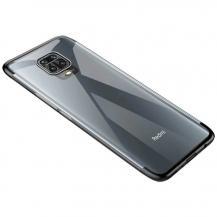 HurtelClear Color skal Redmi 10X 4G/Redmi Note 9 Svart