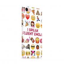 Skal till Apple iPhone 7/8 - I speak fluent Emoji