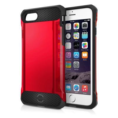 Itskins Spina Skal till iPhone 7/8/SE 2020 - Röd