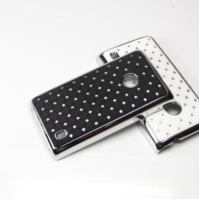 Diamante Skal till Nokia Lumia 520 (Svart)