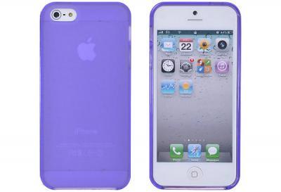 FlexiCase Skal till Apple iPhone 5/5S/SE - Classic (Lila)