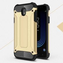 OEMHybrid Armor Mobilskal Samsung Galaxy J7 (2017) - Guld