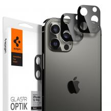 SpigenSPIGEN Härdat Glas Optik.Tr Kamera Lens iPhone 12 Pro Svart
