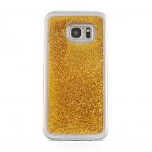 CoveredGearGlitter Skal till Samsung Galaxy S7 - Guld