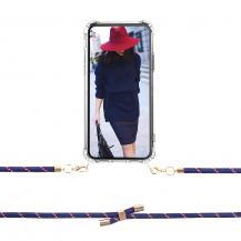 Boom of SwedenBOOM OF SWEDEN - Halsband mobilskal till iPhone X - Rope RedBlue