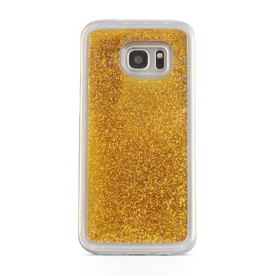 Glitter Skal till Samsung Galaxy S7 - Guld