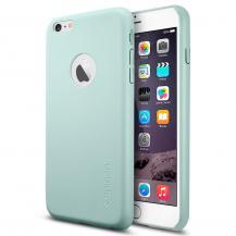 SpigenSPIGEN Leather Fit Skal till Apple iPhone 6(S) Plus - Mint