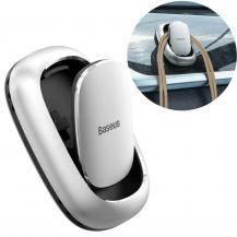 BASEUSBaseus Beetle 2x Självhäftande bilhållare Silver