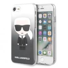 KARL LAGERFELDKarl Lagerfeld Skal iPhone 7/8/SE 2020 Gradient Ikonik Karl - Svart