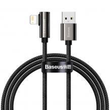 BASEUSBaseus Mobile Game Kabel Lightning - USB 2,4A 1m - Svart