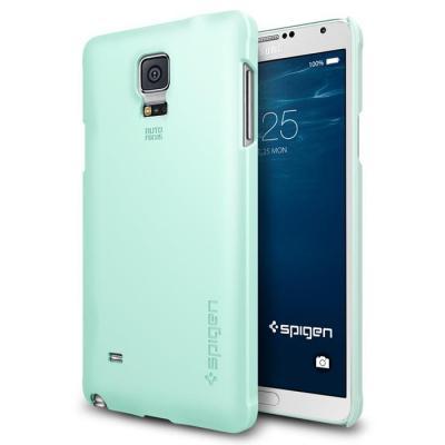 SPIGEN Thin Fit Skal till Samsung Galaxy Note 4 (Mint)