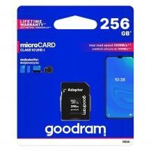 GoodramGoodram Microcard 256 GB micro SD XC UHS-I class 10 memory card