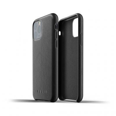 Mujjo Full Leather Case för iPhone 11 Pro - Svart