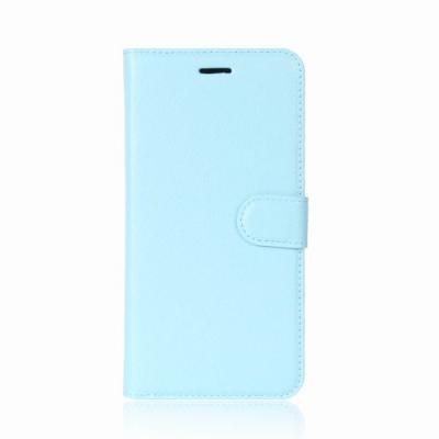 Litchi Plånboksfodral till Nokia 6.1 (2018) - Blå