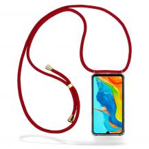 CoveredGear-NecklaceCoveredGear Necklace Case Huawei P30 Lite - Maroon Cord