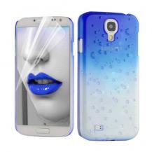 OEMRaindrop Baksideskal till Samsung Galaxy S4 i9500 - (Blå)
