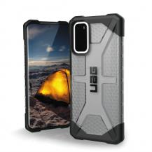 UAGUAG Plasma Cover Samsung Galaxy S20 - Ash