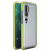 HurtelSpring Case skal Mi Note 10/10 Pro/Mi CC9 Pro gul
