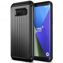 VERUSVerus Waved Hard Drop Skal till Samsung Galaxy S8 - Dark Silver