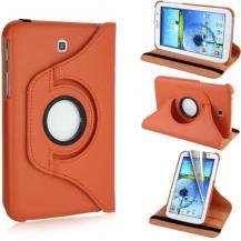 A-One BrandRotating Armour Fodral till Samsung Galaxy Tab 3 7,0 P3200 - (Orange)