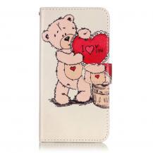 A-One BrandPlånboksfodral till iPhone 7/8 Plus - Cute Bear