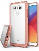 RearthRingke Fusion Shock Absorption Skal till LG G6 - Rose Gold