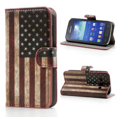 Plånboksfodral till Samsung Galaxy Ace 3 (America)