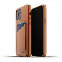 MujjoMujjo Full Leather Wallet iPhone 12 & 12 Pro - Tan