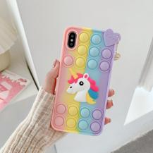 Fidget ToysPop it Fidget Skal iPhone 11 - Unicorn