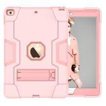 """A-One BrandShockProof TPU Skal med Stativfunktion för iPad 10.2"""" 2019 - Rosa"""